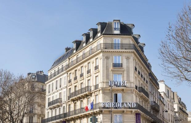 фото отеля Hotel Champs-Elysees Friedland by Happyculture (ex. Best Western Etoile Friedland Champs-Elysees) изображение №1