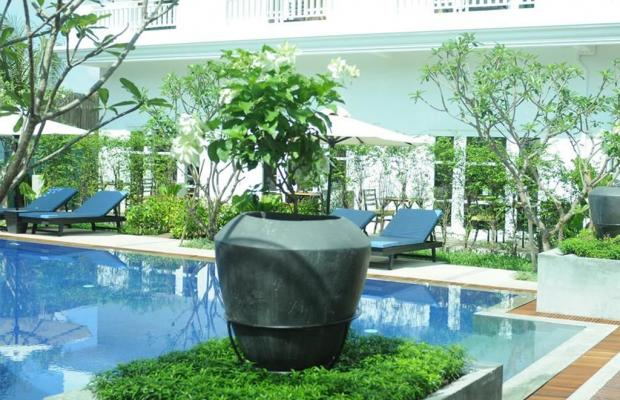 фотографии отеля Frangipani Green Garden Hotel and Spa изображение №3