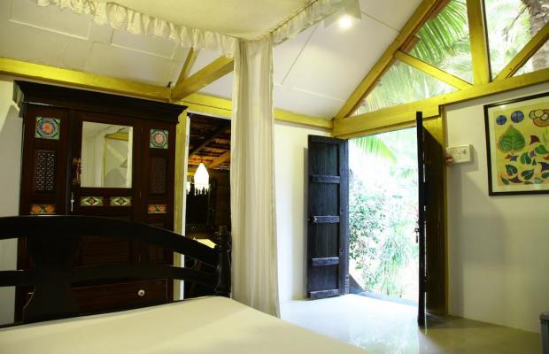 фотографии отеля Leela Cottages изображение №3